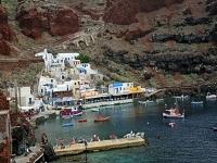 Ammoudi Hafen