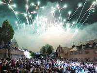 Feuerwerk auf Schloss Kapfenburg_Gerd Keydell