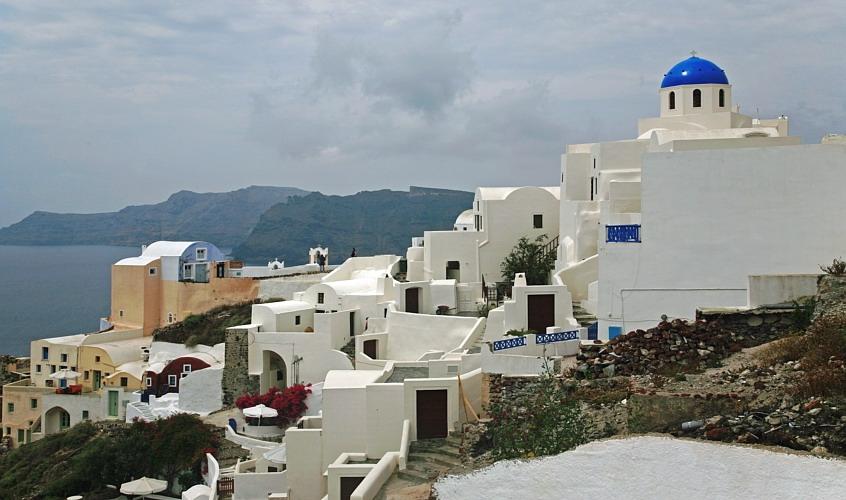 Santorin Siedlung
