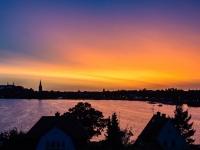 Sonnenuntergang Plön