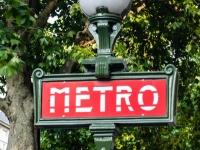 Eingang Metrostation