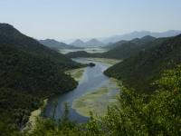 Vorn Montenegro - hinten Albanien