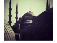 Retrolook - Blaue Moschee Istanbul