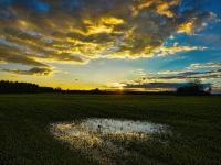 Sonnenuntergang bei Zang